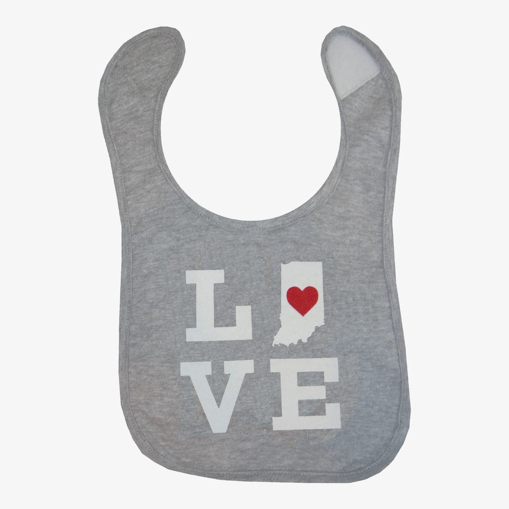 Love Indiana Bib
