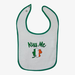 Ireland Kiss Me Bib