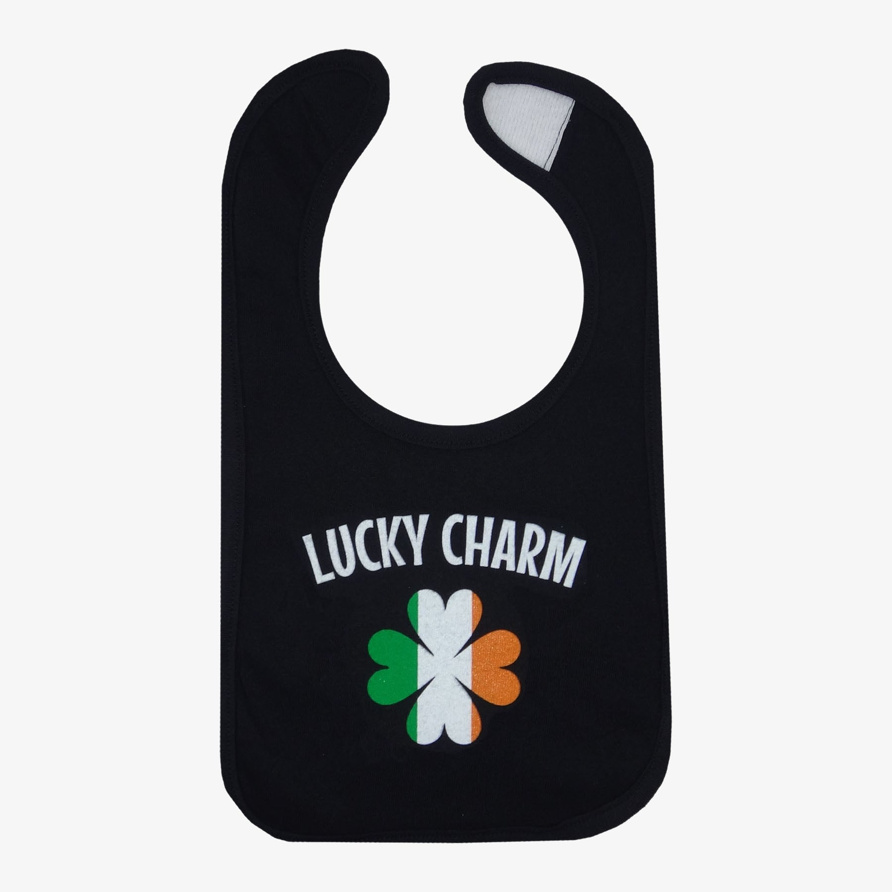 Irish Lucky Charm Flag Bib