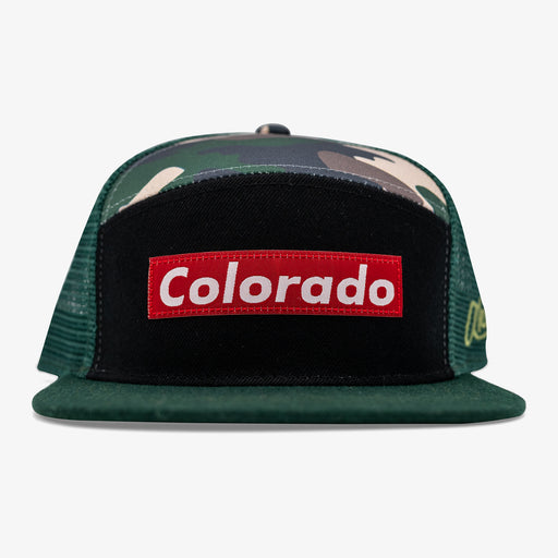 Aksels Colorado Skate Camper Hat - Green
