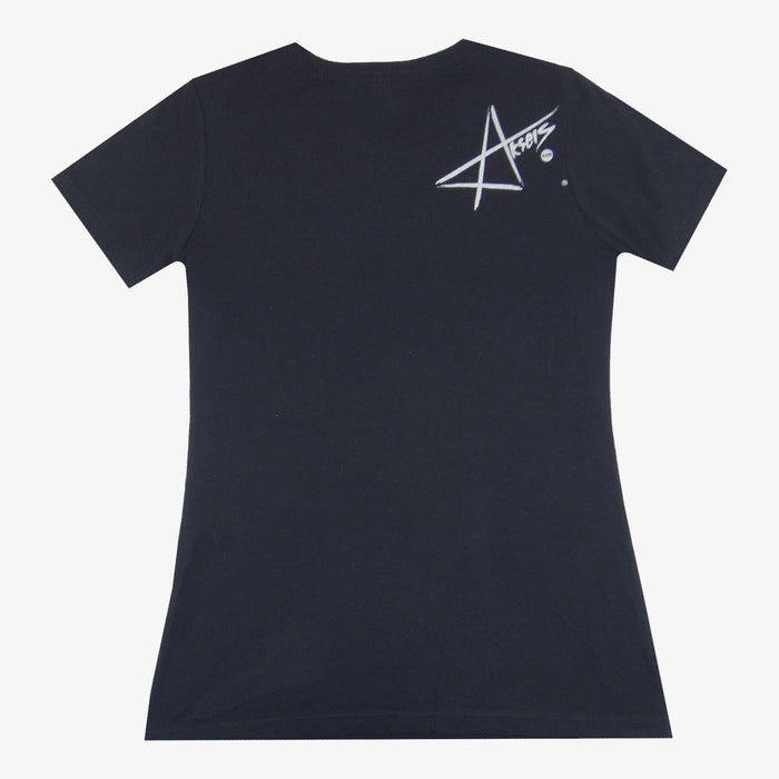 Women's Colorado Mountain T-Shirt - Black/Neon