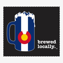 Brewed Locally Colorado Sticker
