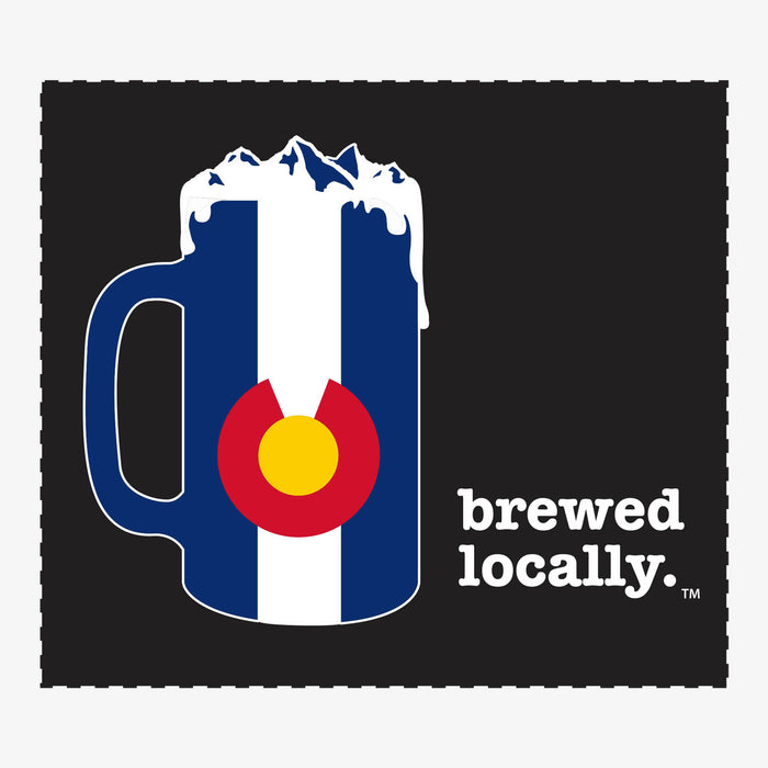 Aksels Brewed Locally Colorado Sticker