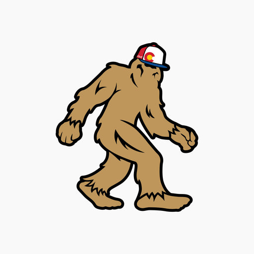 Aksels Colorado Sasquatch Sticker