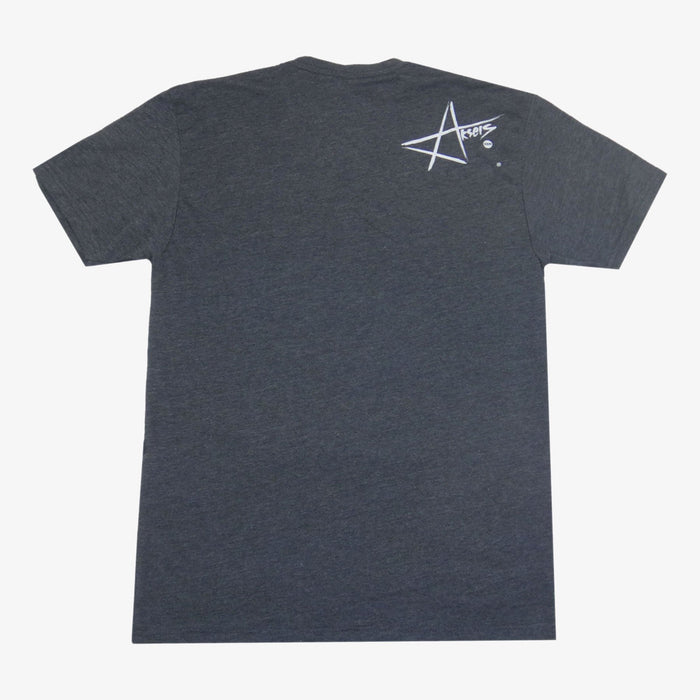 Aksels Wyoming Cowboy T-Shirt - Charcoal