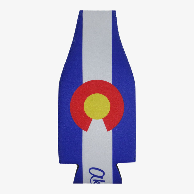 Aksels Colorado Flag Bottle Cooler