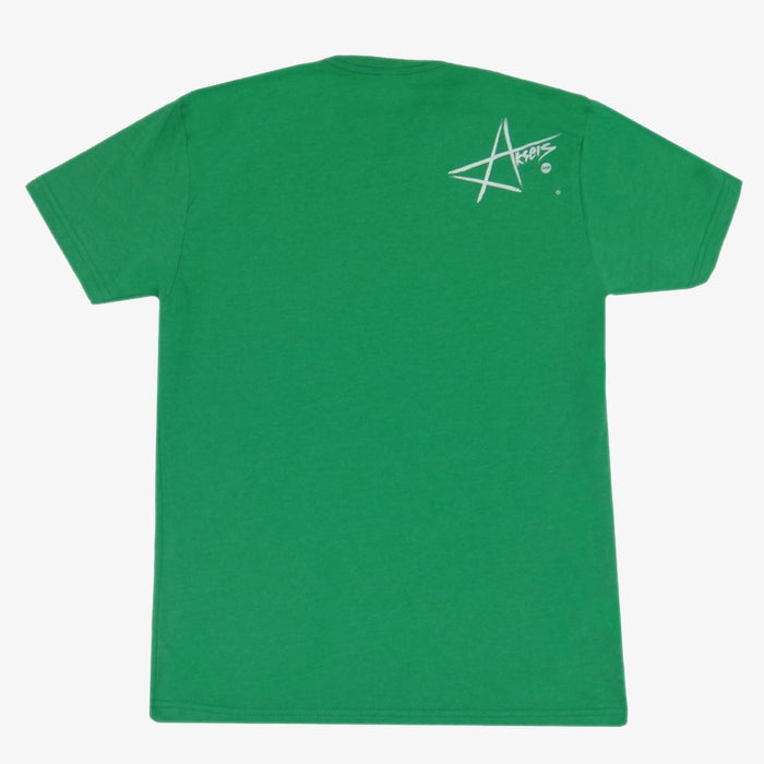 Aksels California Flag Grizzly Bear T-Shirt - Green