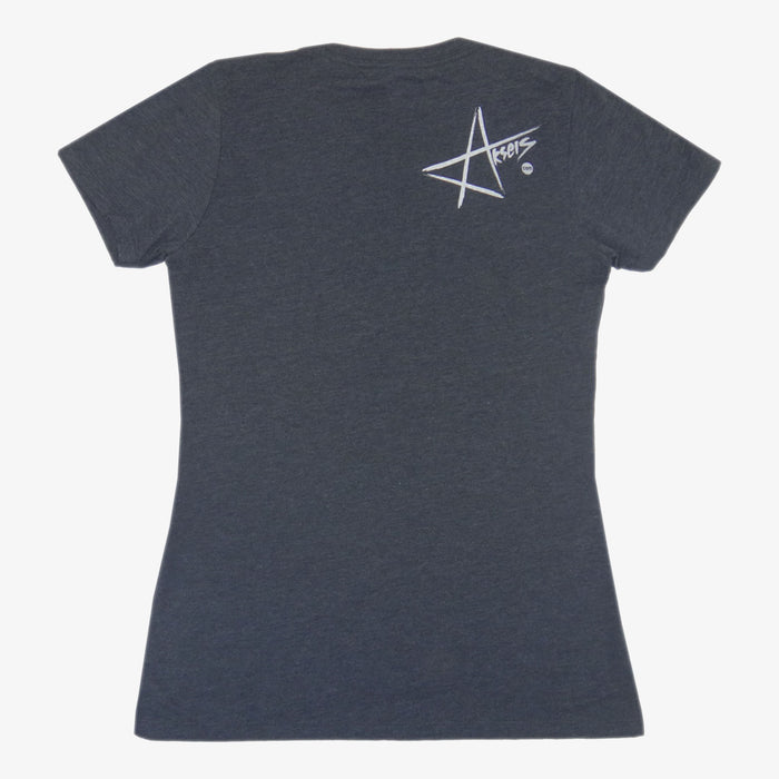 Women's Colorado Brewed Locally T-Shirt - Charcoal