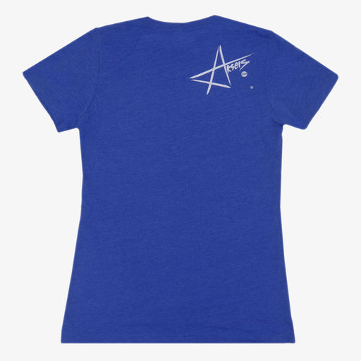 Women's Colorado Gingah T-Shirt - Royal
