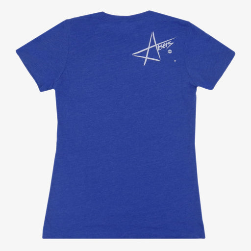 Aksels Women's Wyoming Cowboy T-Shirt - Royal