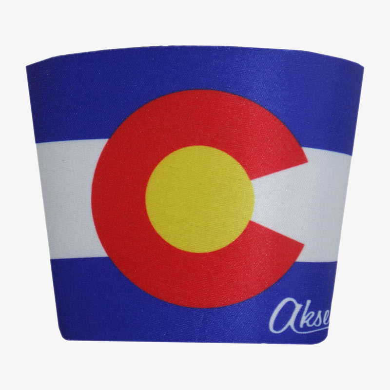 Aksels Colorado Flag Cup Cooler