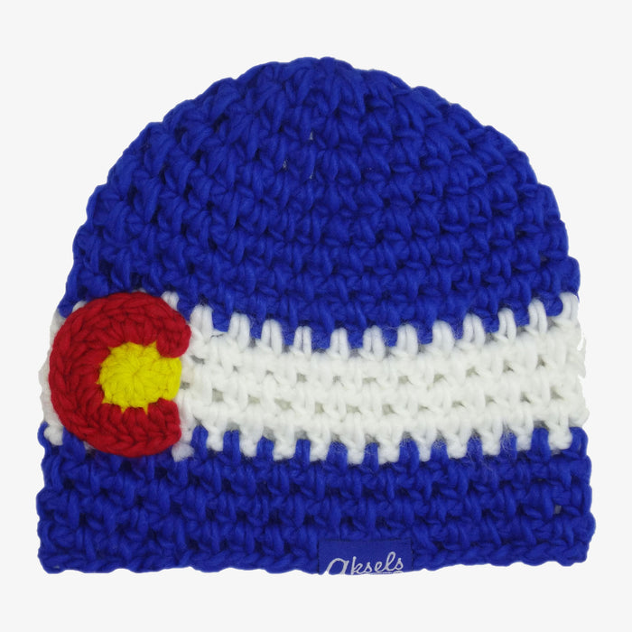Aksels Colorado Flag Knit Beanie