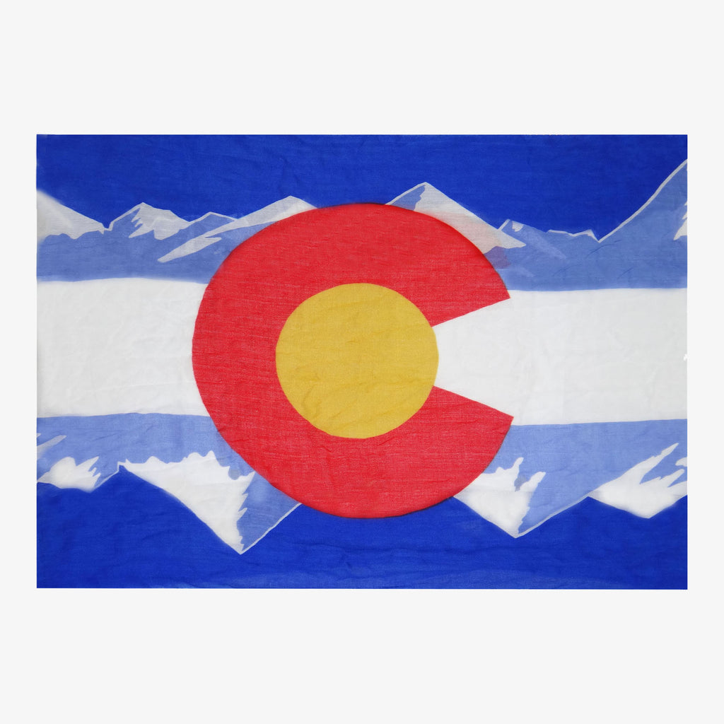 Aksels Colorado Flag Infinity Scarf