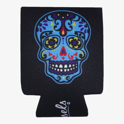 Aksels Day of the Dead Can Cooler - Black
