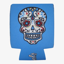 Day of the Dead White Koozie