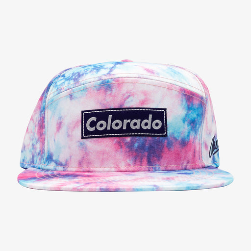 Aksels Tie Dye Camper Hat - Cotton Candy