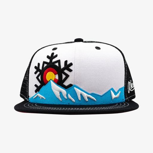 Aksels Colorado Snowflake Trucker Hat