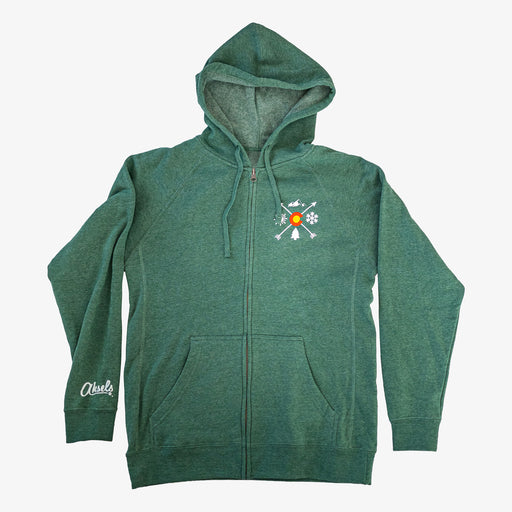 Aksels Colorado Arrows Full-Zip Hoodie - Green