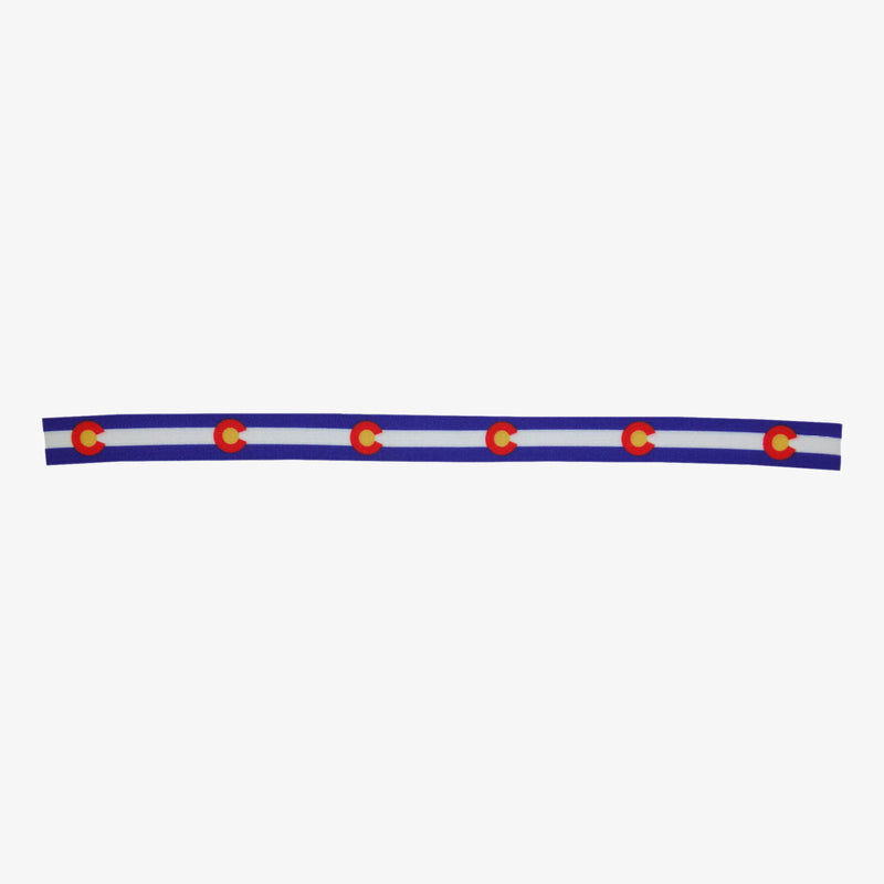 Aksels Colorado Flag Elastic Headband