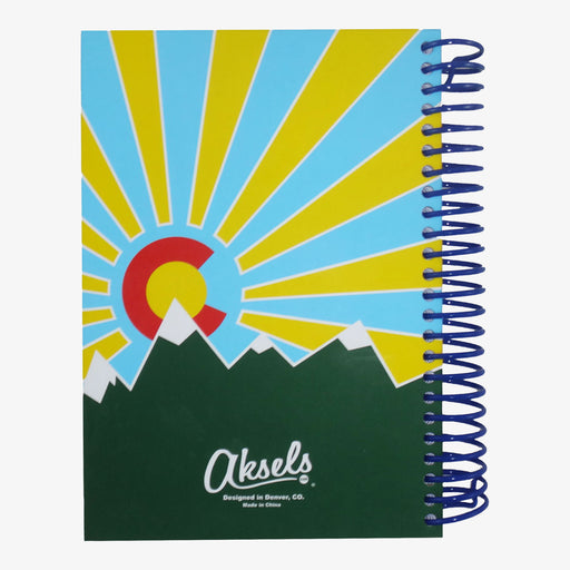 Aksels Aksels Colorado Flag Journal