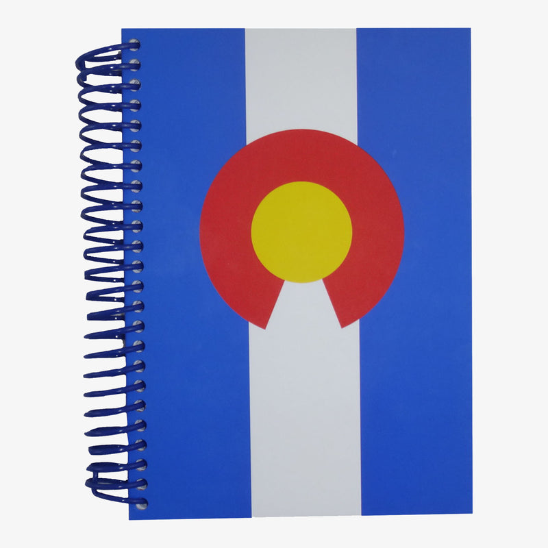 Aksels Colorado Flag Journal