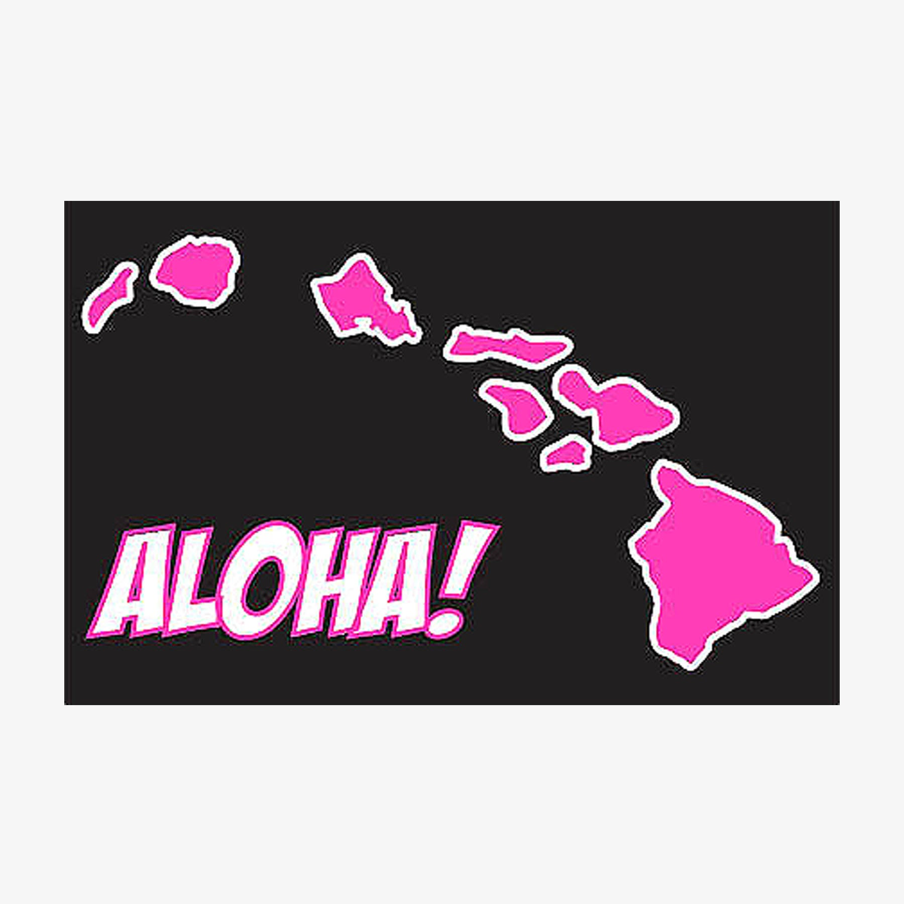 Hawaiian Islands Aloha Sticker