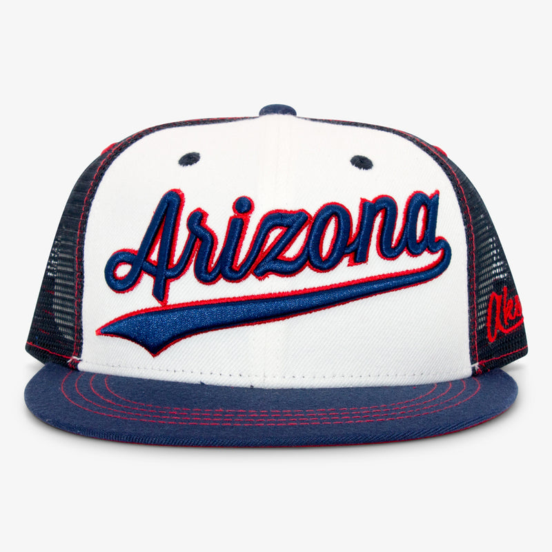 Aksels Cursive Arizona Trucker Hat