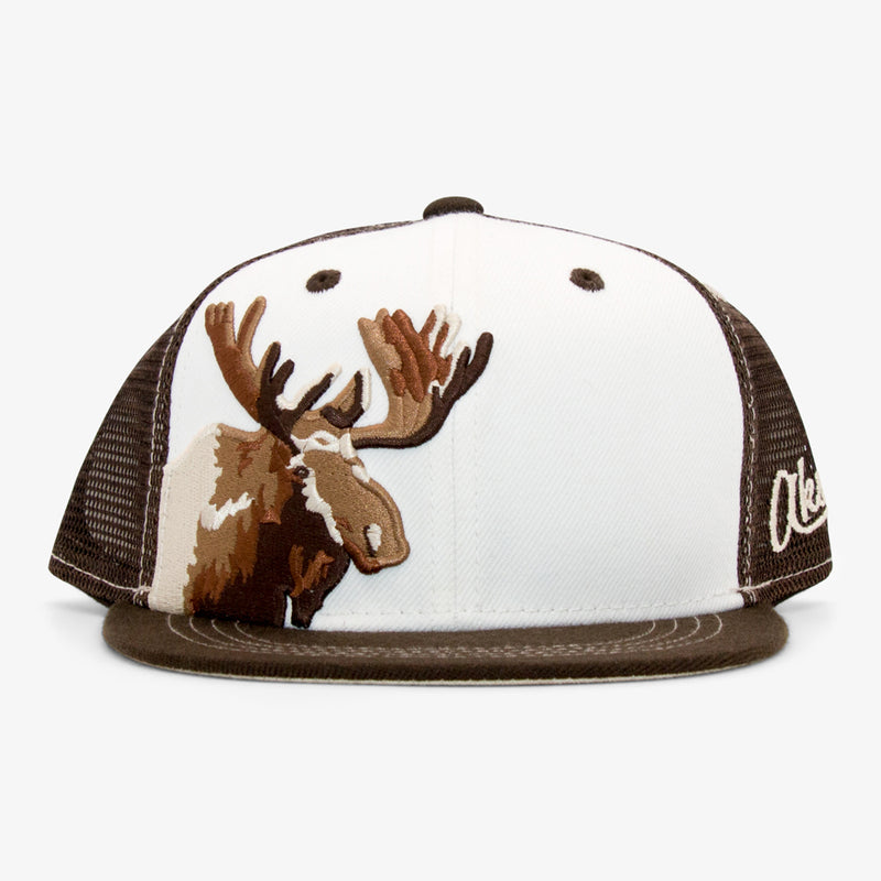 Aksels Youth Moose Trucker Hat