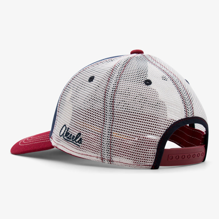 Aksels Denver Skyline Hockey Low Pro Trucker Hat