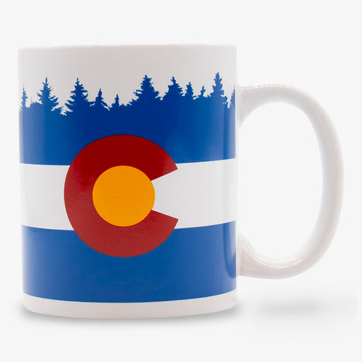 Aksels Colorado Flag Coffee Mug