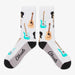 Aksels All Over Print Guitar Socks