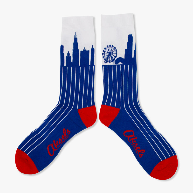 Aksels Chicago Skyline Socks
