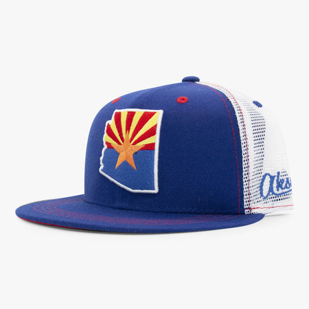 Aksels Arizona Flag Trucker Hat