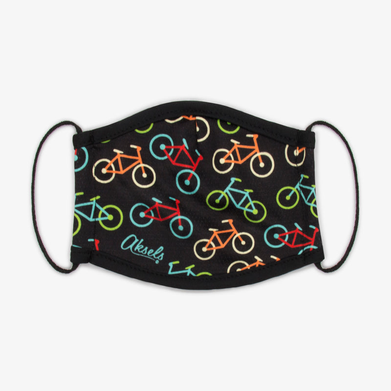 Aksels Neon Bicycles Face Mask