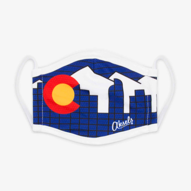 Aksels Denver Skyline Face Mask