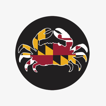 Aksels Maryland Crab Sticker - Neon