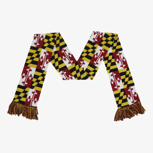 Aksels Maryland Flag Winter Scarf