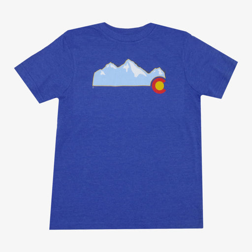 Aksels Youth Colorado Mountain T-Shirt