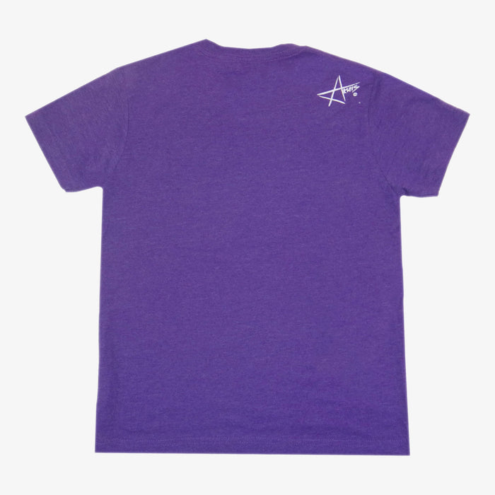 Youth Grown Locally Colorado T-Shirt - Purple