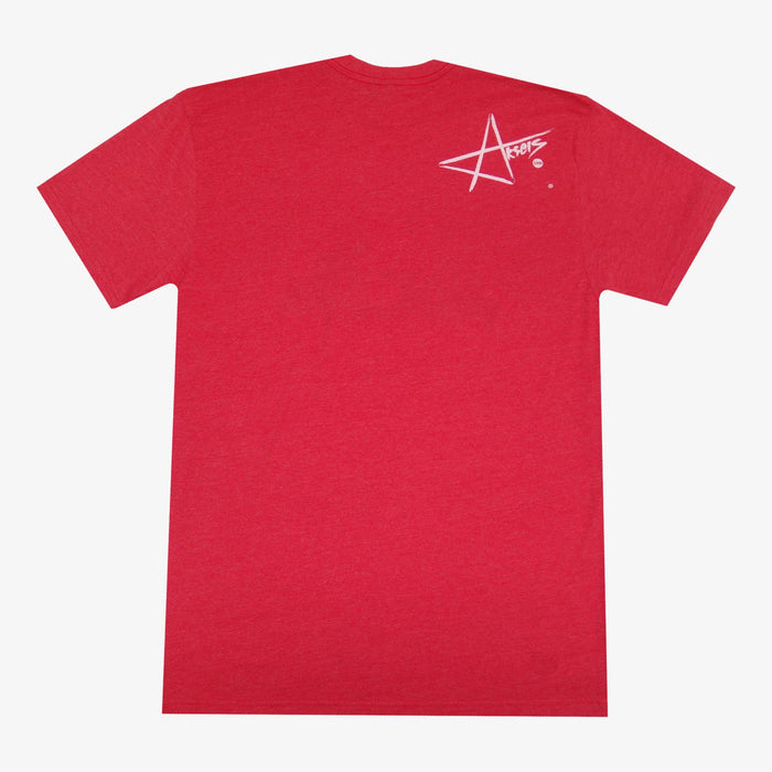 Aksels Grown Locally New York T-Shirt - Red