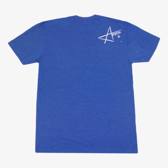 Aksels Wyoming Cowboy T-Shirt - Royal