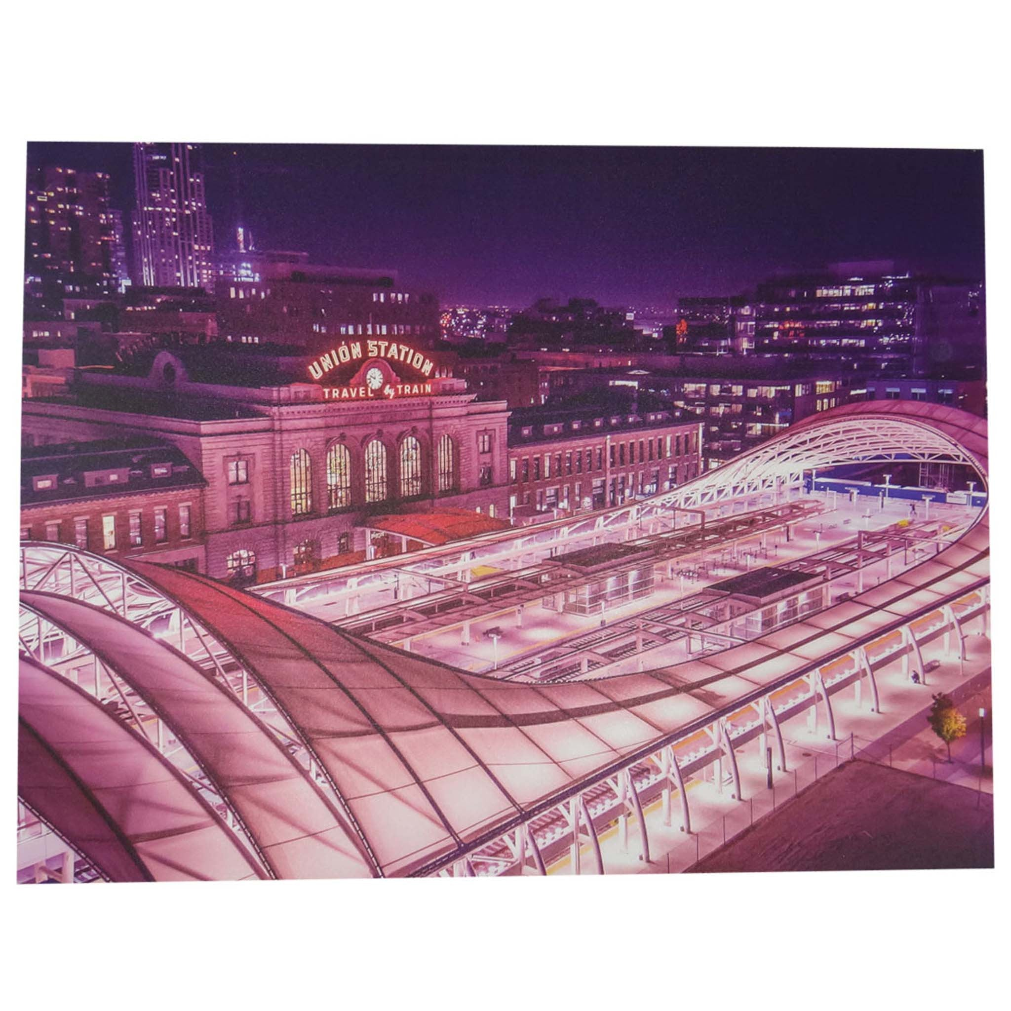 Union Station Canvas Artwork
