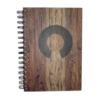 Colorado Flag Wooden Journal