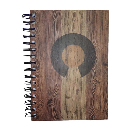 Aksels Faux Wood Colorado Flag Journal