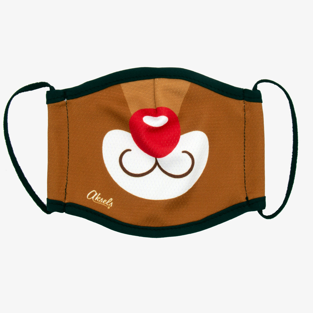 Aksels Rudolph The Red Nose Reindeer Face Mask