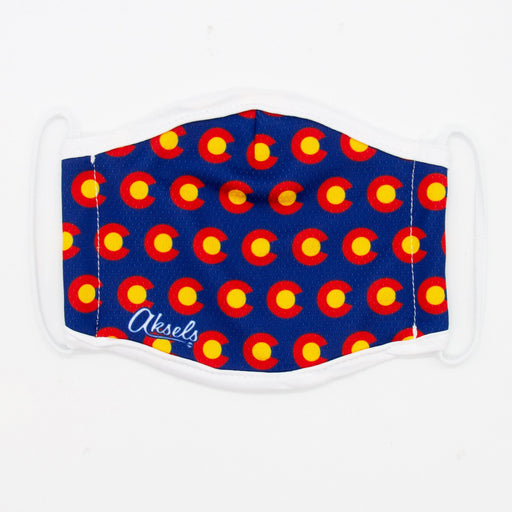 Aksels Colorado Flag C Face Mask