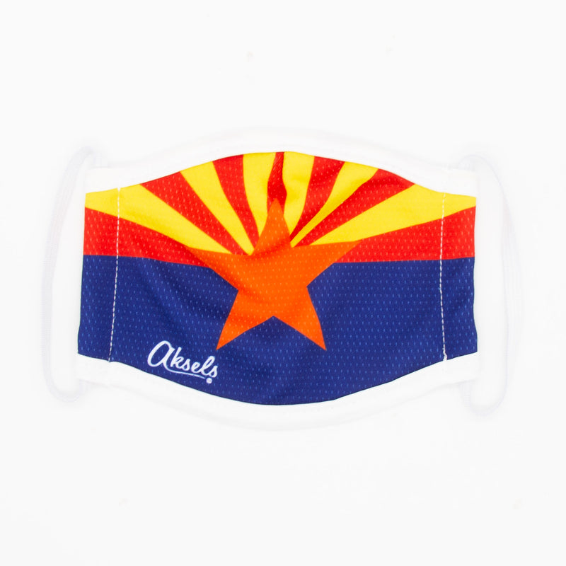 Aksels Arizona Flag Face Mask - Black