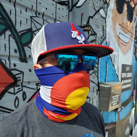 Aksels Colorado Flag Tube Mask
