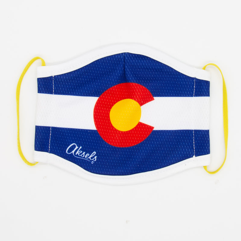 Aksels Colorado Flag Face Mask
