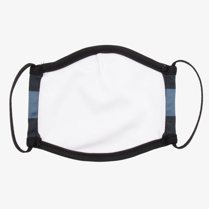 Aksels Colorado Flag Face Mask - All Black